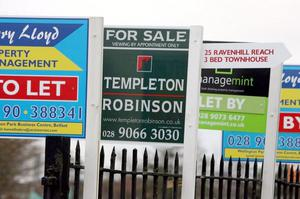Mortgage sales in Northern Ireland dropped faster than almost any other UK region in the last month, new figures show