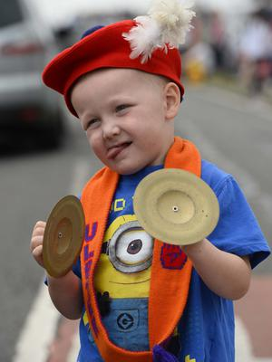 Pictured is Charlie McKibbin at the Ballymartin and Kilkeel 12th of July celebrations. Picture Mark Marlow