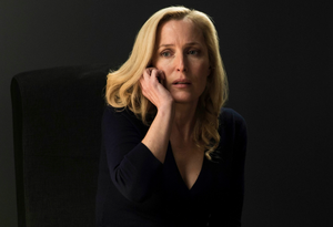 Gillian Anderson as Stella Gibson in The Fall series 3. Pic: @TheFallTV