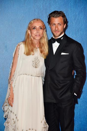 VENICE, ITALY - SEPTEMBER 02:  Franca Sozzani and Francesco Carrozzini attends the premiere of 'Franca: Chaos And Creation' during the 73rd Venice Film Festival at Sala Giardino on September 2, 2016 in Venice, Italy.  (Photo by Pascal Le Segretain/Getty Images)