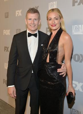Patrick Kielty and Cat Deeley Photo by Charley Gallay/Getty Images for FOX)