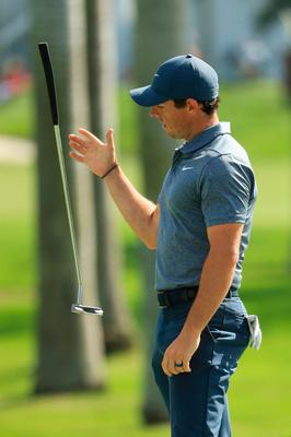 Putting it nicely: Rory McIlroy's short game is on the up, but this weekend at Florida will be a test