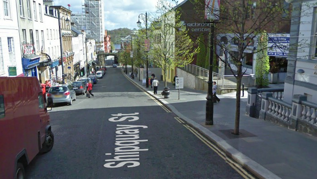 Shipquay Street in the city. Picture: Google Maps