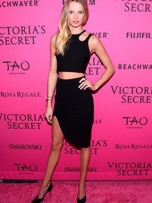 NEW YORK, NY - NOVEMBER 10:  Maud Welzen attends the 2015 Victoria's Secret Fashion After Party at TAO Downtown on November 10, 2015 in New York City.  (Photo by Grant Lamos IV/Getty Images)