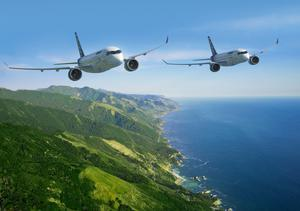 Bombardier's C Series aircraft