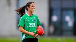 Class act: Joanne Doonan is hoping for the perfect send-off