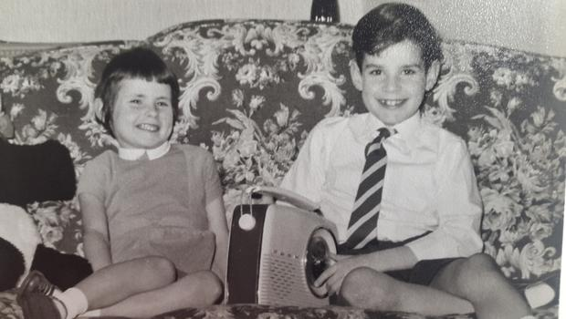 Pamela Ballantine with her brother Peter