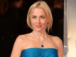 Gillian Anderson arriving at The EE British Academy Film Awards 2014, at the Royal Opera House, Bow Street, London. PRESS ASSOCIATION Photo. Picture date: Sunday February 16, 2014. See PA story SHOWBIZ Bafta. Photo credit should read: Dominic Lipinski/PA Wire
