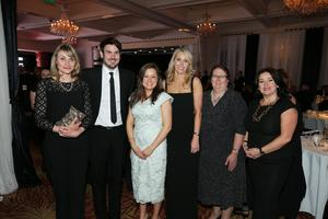 A team from Danske Bank — shortlisted in the Excellence in Marketing Award, sponsored by RLA Ireland