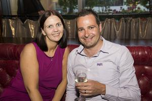 Berts Bar Jazz Festival pictured Samantha and Chris Cairns