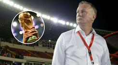 Michael O'Neill says that playing a part in hosting the 2030 World Cup finals would be 'huge' for Northern Ireland.