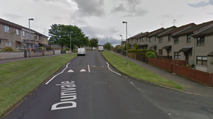 The assault happened in the Dunvale area of Ballymena. Credit: Google