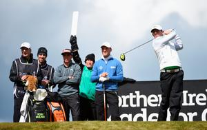 NEWCASTLE, NORTHERN IRELAND - MAY 29:  Rory McIlroy of Northern Ireland tees off during the Second Round of the Dubai Duty Free Irish Open Hosted by the Rory Foundation at Royal County Down Golf Club on May 29, 2015 in Newcastle, Northern Ireland.  (Photo by Ross Kinnaird/Getty Images)