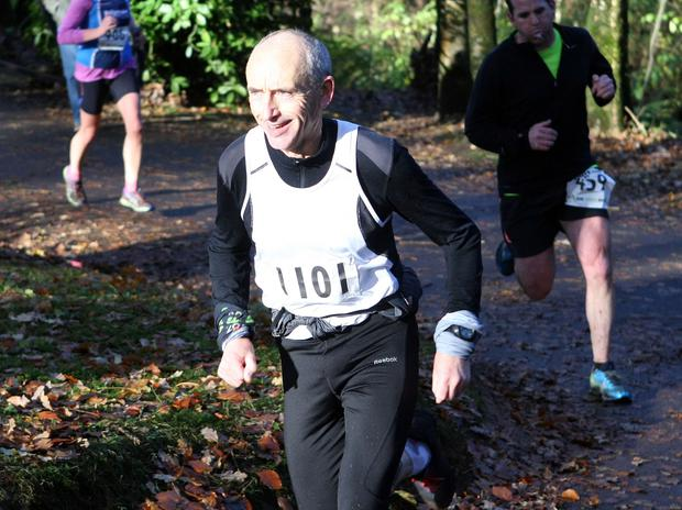 Mandatory Credit - Picture by Freddie Parkinson/Press Eye © Saturday 19th November 2016 Belfast Telegraph Run Forest Run Drum Manor Forest Park, Drum Road, Cookstown BT80 9RT George Whyte Craigavon
