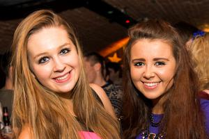 Ollies Night club pictured Rachel loughran and Lauren Dempsey