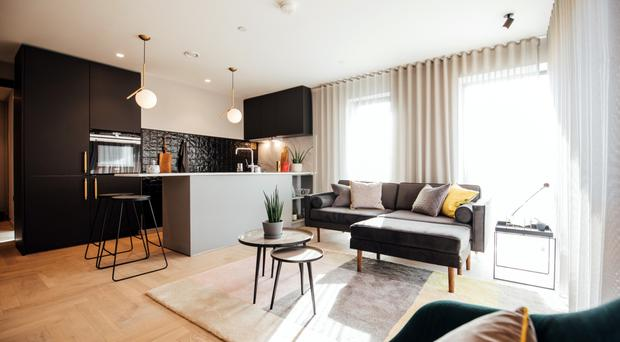 FX show apartments in Belfast