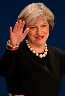 The PM at Tory Party conference
