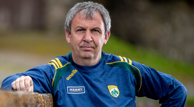 Making plans: Kerry boss Peter Keane has a number of growing talents in his squad