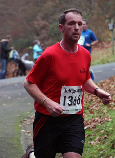 Mandatory Credit - Picture by Freddie Parkinson/Press Eye © Saturday 3rd December 2016 Belfast Telegraph Run Forest Run Loughgall. Loughgall Country Park, 11-14 Main Street, Loughgall, Armagh.  Kevin Fogarty 10K Crumlin