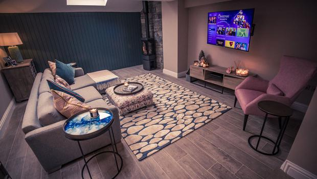 Tiffany Brien's new custom homein Holywood (Photo by Kevin Scott for Belfast Telegraph)
