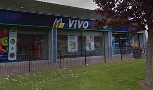 The Vivo store where the theft happened