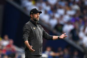 In perspective: Jurgen Klopp admits his main focus is on making sure his Liverpool players are up to speed with their fitness and physical play