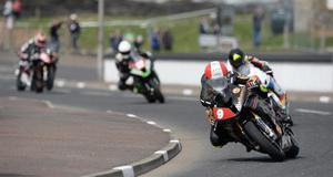 15/5/2014. PACEMAKER PRESS.  SUPERSTOCK PRACTICE.  Michael Rutter during todays Vauxhall International North West 200 Superstock practice session. Picture Charles McQuillan/Pacemaker.