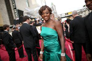 HOLLYWOOD, CA - MARCH 02:  Actress Viola Davis attends the Oscars held at Hollywood & Highland Center on March 2, 2014 in Hollywood, California.  (Photo by Christopher Polk/Getty Images)