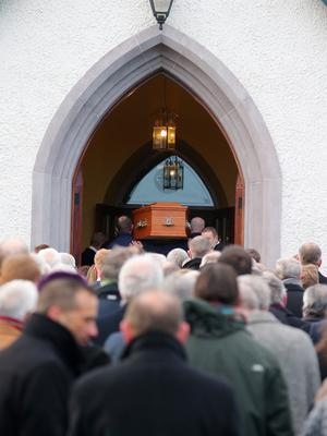 Requiem Mass and celebration of the life of Seamus Mallon. Picture by Jonathan Porter/PressEye