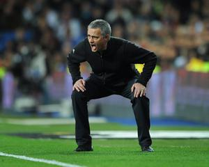 FILE - JUNE 02, 2013:  Jose Mourinho has been confirmed as Chelsea FC manager, returning to the club for a second term in charge, having left the club in 2007. MADRID, SPAIN - MARCH 04:  Head coach Jose Mourinho of Real Madrid reacts during the la Liga match between Real Madrid and Espanyol at Estadio Santiago Bernabeu on March 4, 2012 in Madrid, Spain.  (Photo by Jasper Juinen/Getty Images)