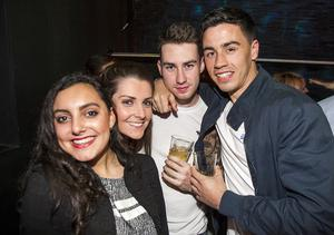 People out at Chinawhite. Saturday 24th October 2015 by Liam McBurney/RAZORPIX