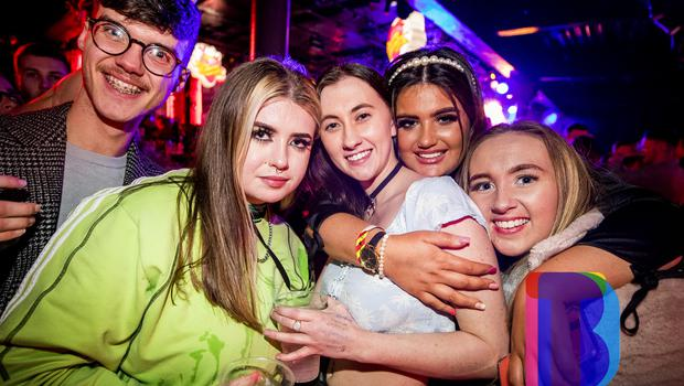 14 Dec 2019 People out at Limelight for AAA Saturdays. (Liam McBurney/RAZORPIX)