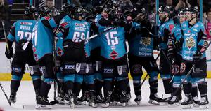 The Belfast Giants are Elite League champions (William Cherry/Presseye)