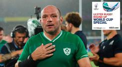 Rory Best will start for Ireland against Japan, only six days after playing all 80 minutes against Scotland.