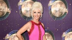 Debbie McGee (Photo by Gareth Cattermole/Getty Images)