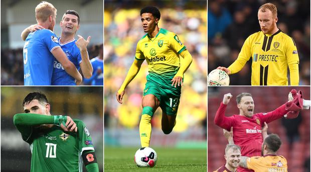 There are 10 Northern Ireland players who are being tipped with potential transfers in the near future.