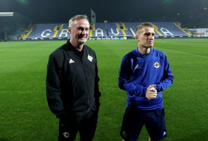 Northern Ireland manager Michael O'Neill and captain Steven Davis were last in Bosnia in 2018.