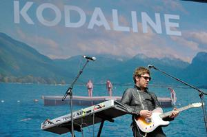 Mark Pendergast of Kodaline performs on the main stage at Hard Rock Calling in London, England, in 2013. (Photo by Matt Kent/Getty Images)