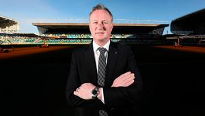Forward thinking: Michael O'Neill is confident the young players including Shayne Lavery can step up to the mark