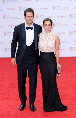 Jamie and Louise Redknapp arriving for the 2013 Arqiva British Academy Television Awards at the Royal Festival Hall, London. PRESS ASSOCIATION Photo. Picture date: Sunday May 12, 2013. See PA story SHOWBIZ Bafta. Photo credit should read: Dominic Lipinski/PA Wire