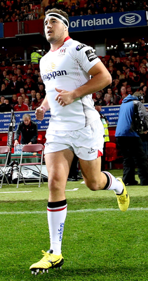 Making strides: Rob Herring has impressed at hooker for Ulster in the absence of Rory Best and can also cover the role of flanker