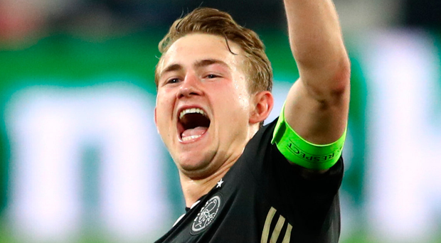 Making waves: Matthijs de Ligt is wanted by big clubs