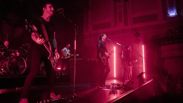 Northern Ireland rockers Snow Patrol return to the Belfast stage for an intimate gig at the Ulster Hall on Sunday, May 20. (Liam McBurney)