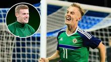 James McClean (inset) has spoken out in support of former Northern Ireland midfielder Mark Sykes, who could soon become one of his Republic of Ireland team-mates.