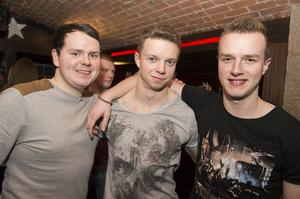 Ollies Christmas pictured Andrew Clark, Andrew Beckinsale and Michael jones