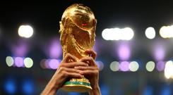 Plans for the 2022 World Cup to be a 48-team event have been dropped (Mike Egerton/PA)