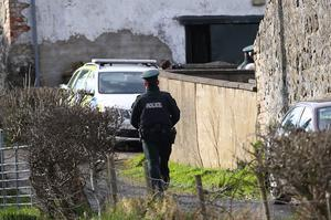 Emergency services at the scene of an incident in the Bankhall Road area of Larne on Monday 2nd March 2020 (Photo by Kevin Scott for Belfast Telegraph)