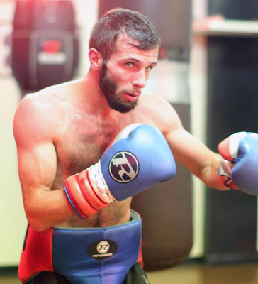 Ready to rumble: Anthony Cacace is in great shape for tomorrow night's big fight. Photo:  Jonathan Porter/Presseye