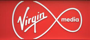 Virgin Media has around 5.3 million broadband, pay-TV and mobile users in the UK (Nick Ansell/PA)