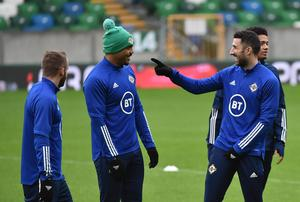 Conor McLaughlin has a pop at Northern Ireland team-mate Josh Magennis as the team remain in good spirits despite their Euro 2020 exit.